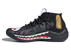 DAME 4 A BATHING APE BLACK