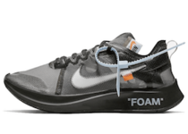 OFF-WHITE VIRGIL ABLOH × NIKE ZOOM FLY SP BLACKの写真