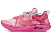OFF-WHITE VIRGIL ABLOH × NIKE ZOOM FLY SP PINK