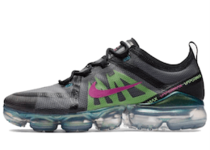 Nike Air Vapormax 2019 Black Active Fuchsia Photo Blueの写真