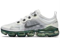 Nike Air VaporMax 2019 Premium White Platinum Tint Lime Blastの写真