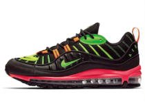 Nike Air Max 98 Neon Black Hyper Crimson Green Strikeの写真