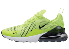 AIR MAX 270 VOLT BLACK-DARK GREY-WHITE