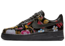 Nike Air Force 1 Low Black Floral Womens