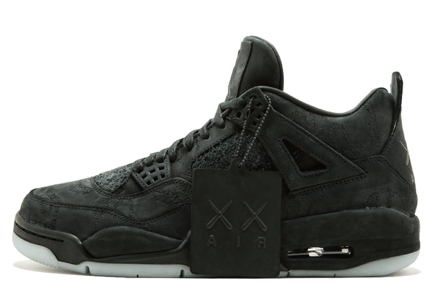 Jordan 4 Retro Kaws Blackの写真
