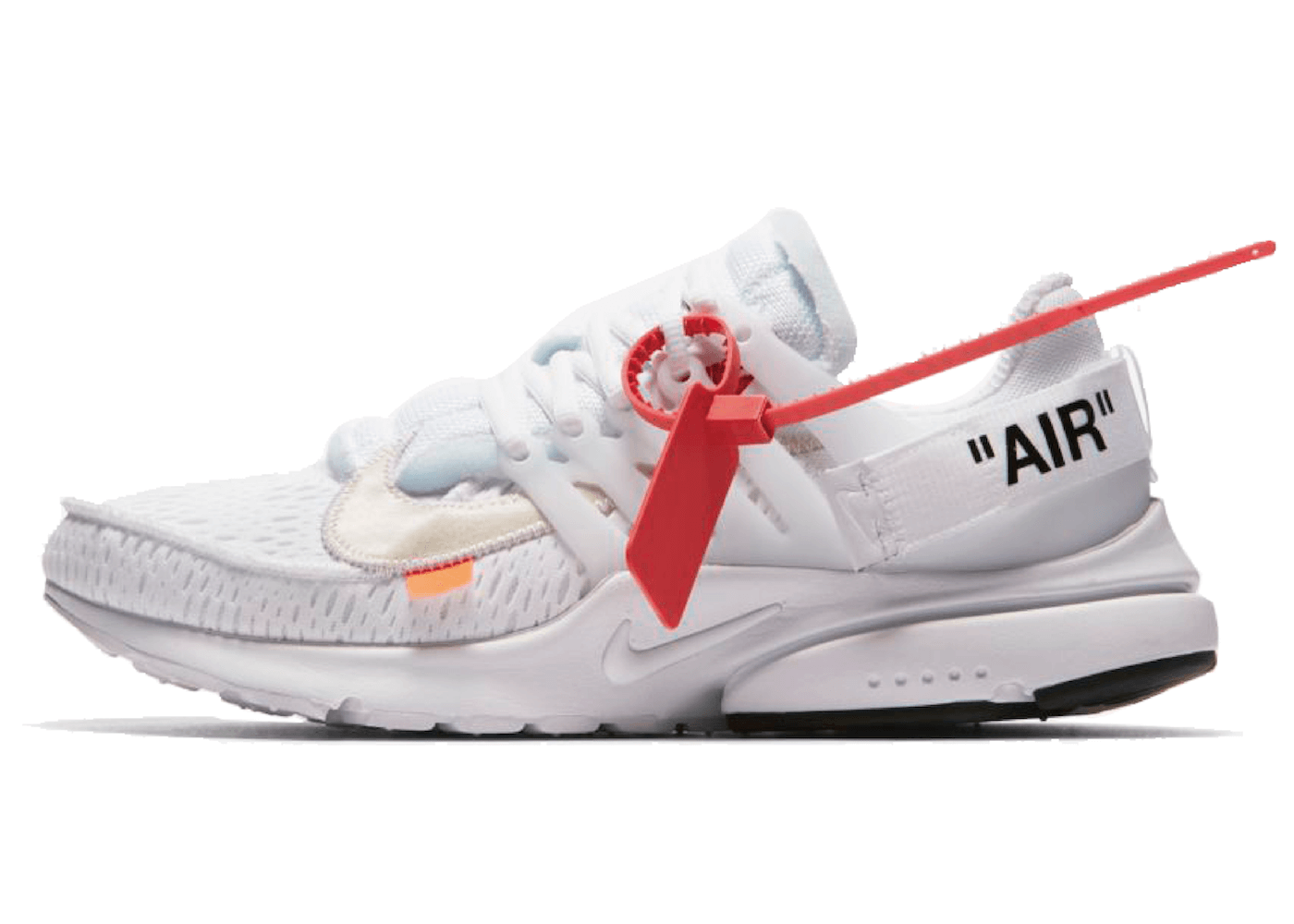 OFF-WHITE × NIKE AIR PRESTO WHITE/BLACK-CONEの写真