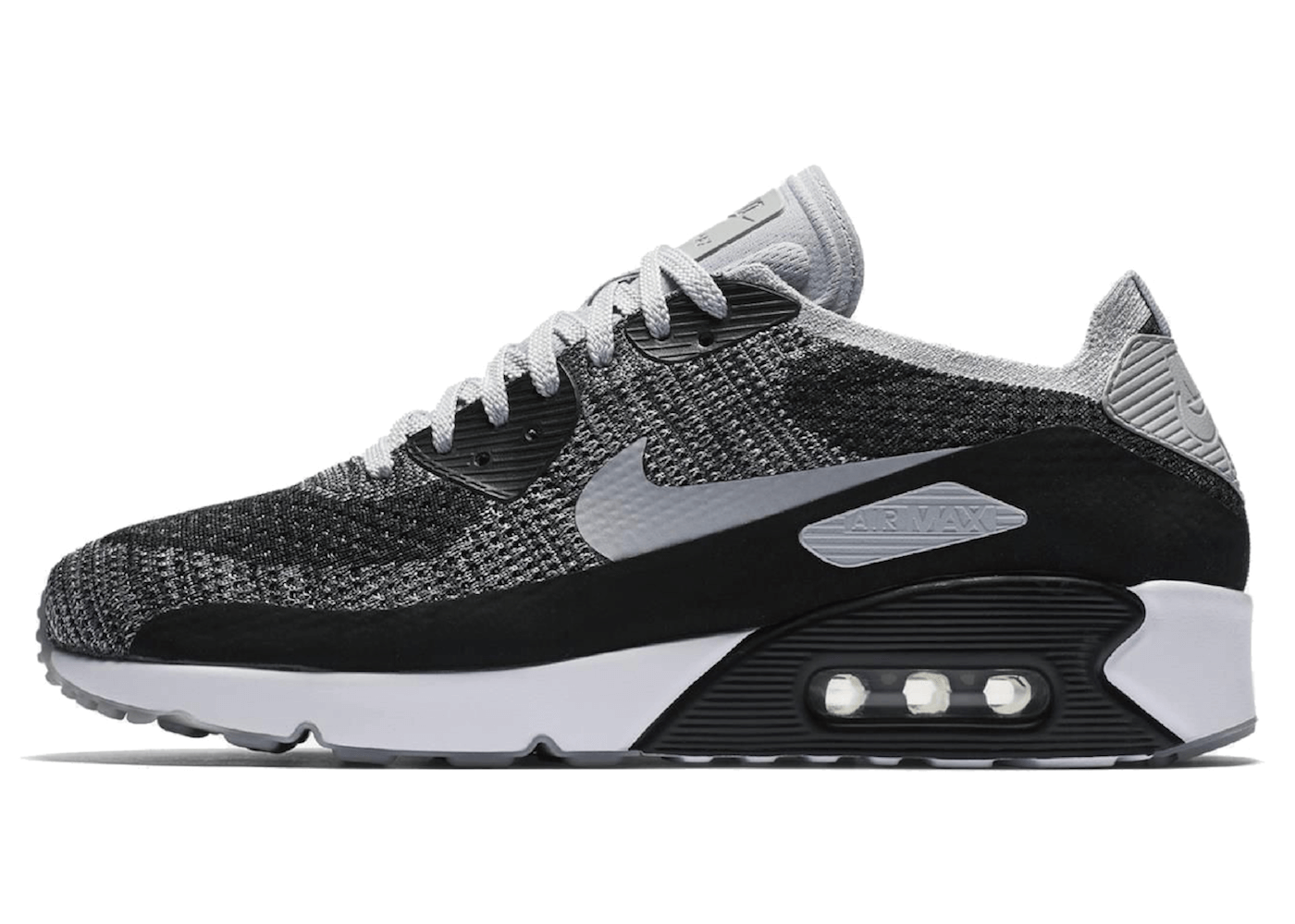 finest selection 9c7ce 3995f Air Max 90 Ultra 2.0 Flyknit Black Wolf Greyの写真. 製品番号  875943-005 ...