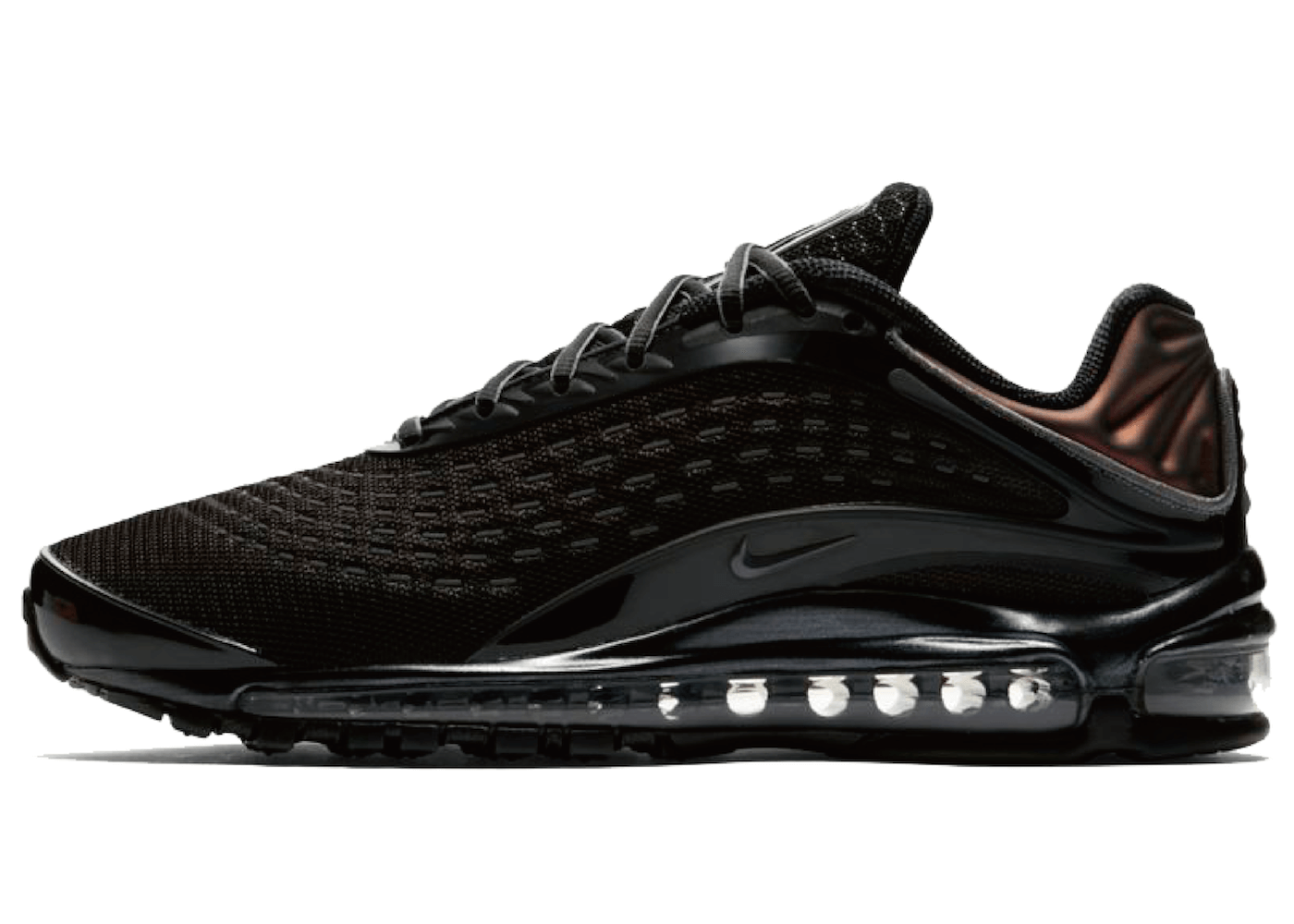 nike air max deluxe black dark grey スニーカーならモノカブ