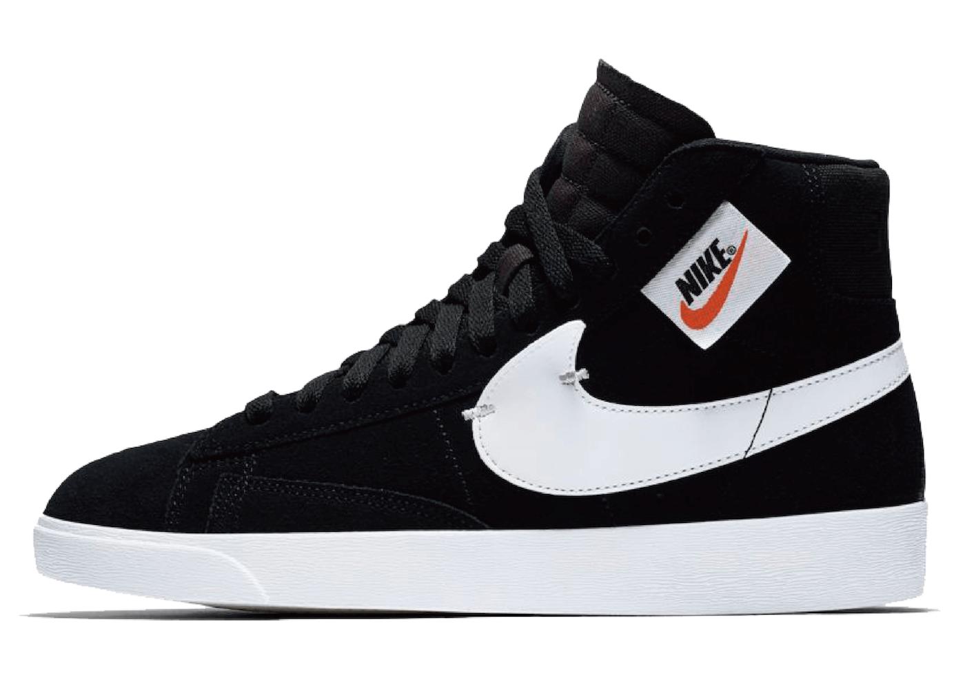 Nike Blazer Mid Rebel Black White (W)の写真