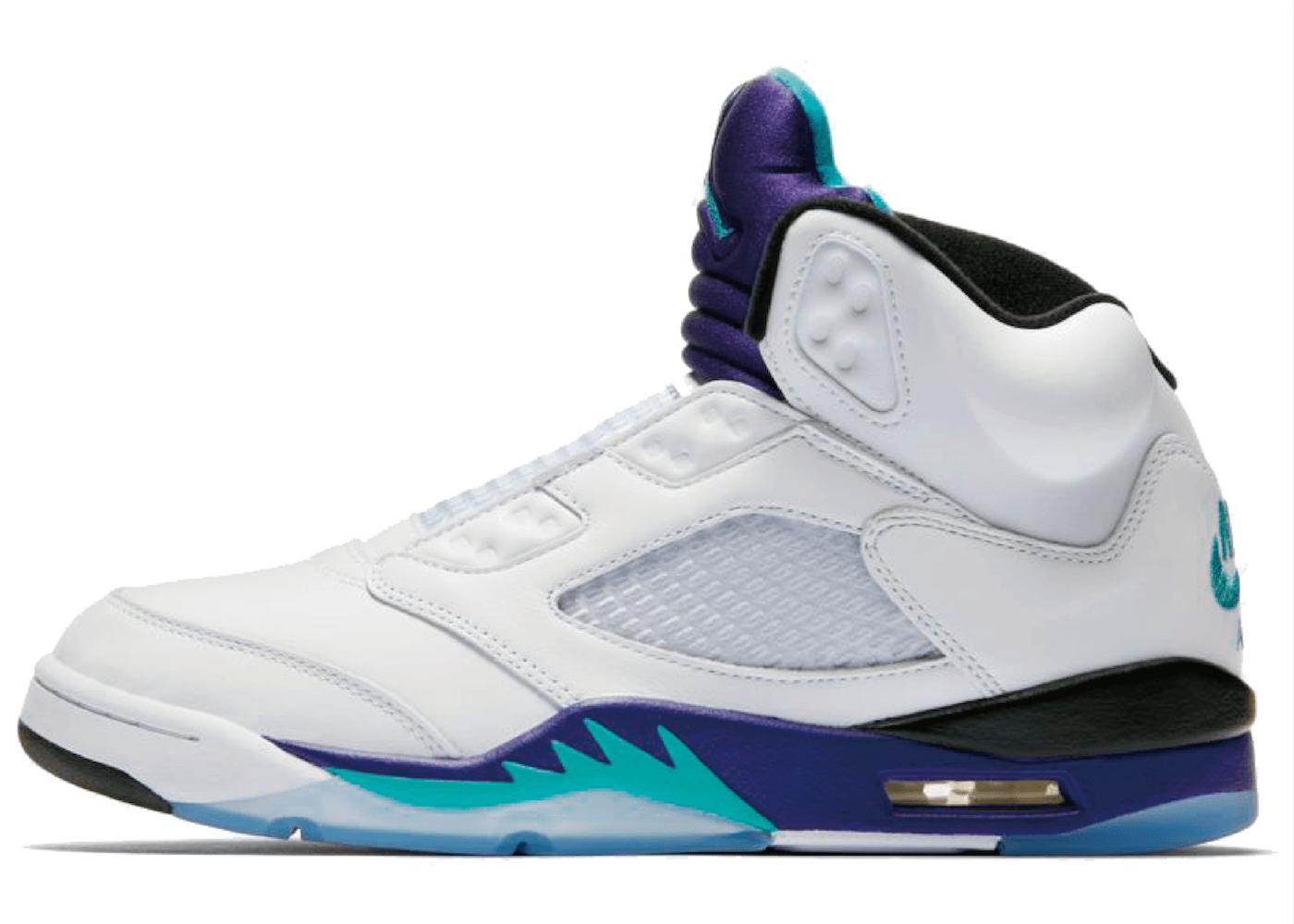 Nike Air Jordan 5 Retro Grape Fresh Princeの写真