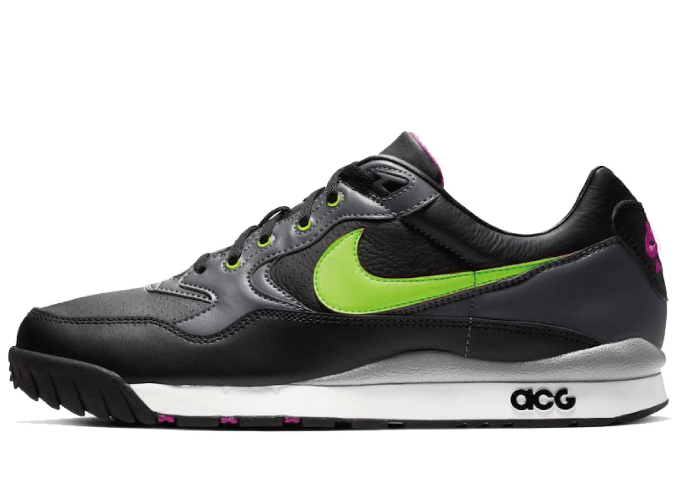 Nike Air Wildwood ACG Electric Green Black Hyper Violetの写真
