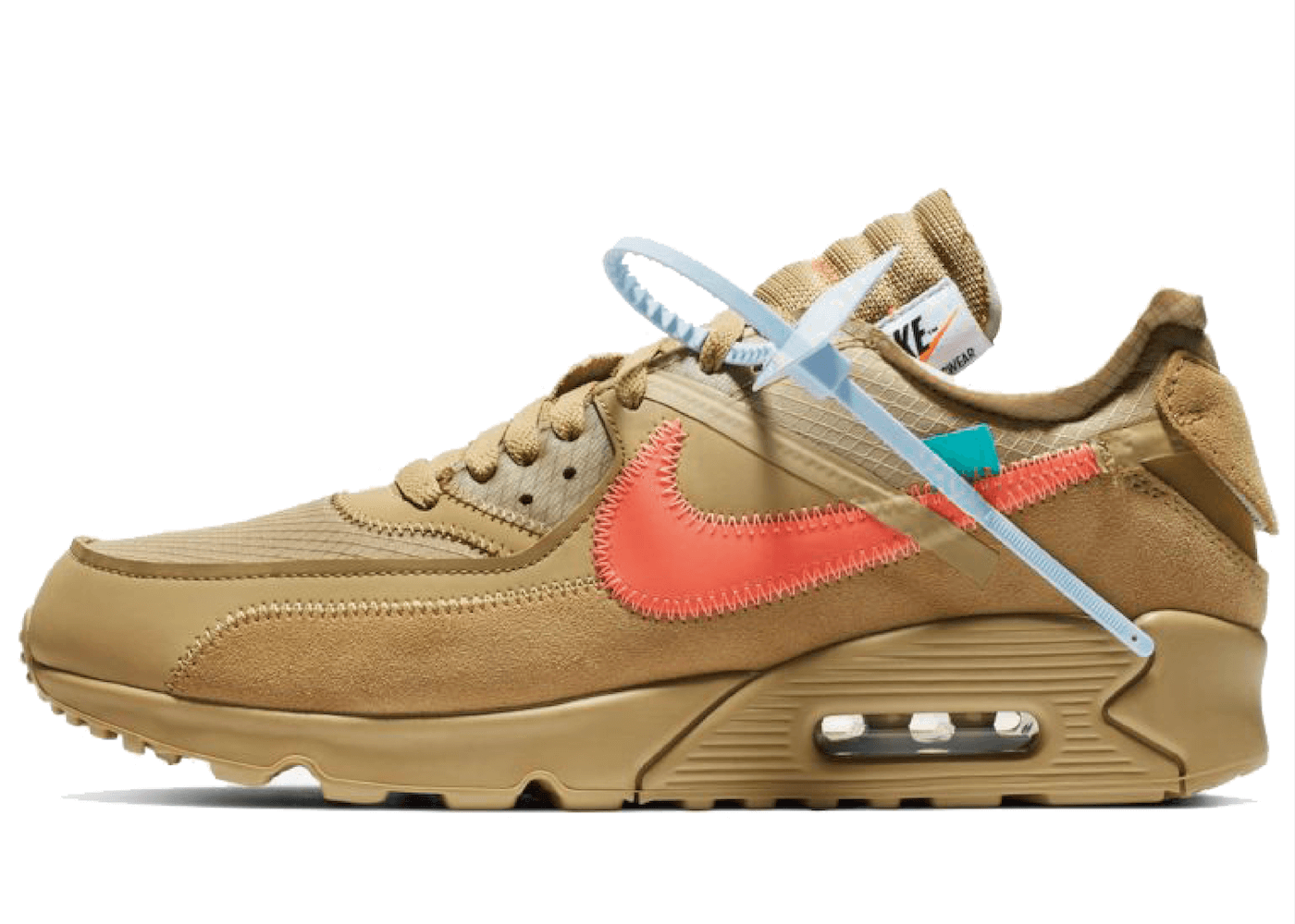 Off White × Nike Air Max 90 Desert Oreの写真
