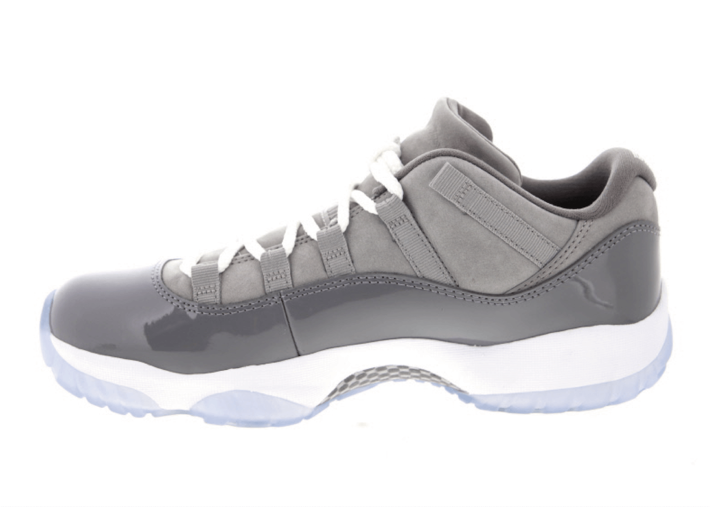 JORDAN 11 RETRO LOW MEDIUM GREY/GUNSMOKE-WHITEの写真
