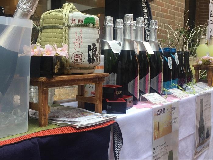 埼玉県の麻原酒造様のスパークリングの日本酒
