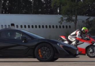 夢のスーパーバトル?世界最速のスーパーカーとスーパーバイクどっちが速いの?
