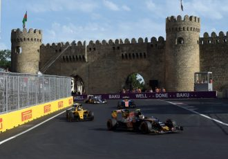 2016F1ヨーロッパGP:初バクー開催は波乱の連続、ロズベルグが今季5勝目をマーク