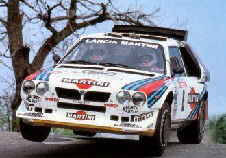 WRC最多勝記録保持メーカー!ランチアのラリーカーは、規格外のモンスターばかり!