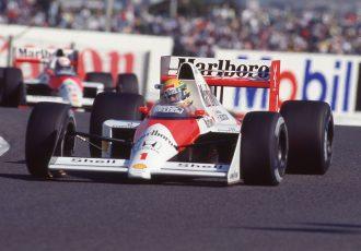 F1史上に残る名バトル「セナプロ対決」…鈴鹿F1日本GPでの対決を振り返る