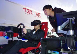 """本質は速く走ることじゃない。次世代のレーシングシミュレータ""""T3R VR edition""""に込められた想いとは。"""