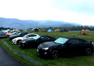 今一番楽しいサーキットでの過ごし方は、キャンプで決まり!