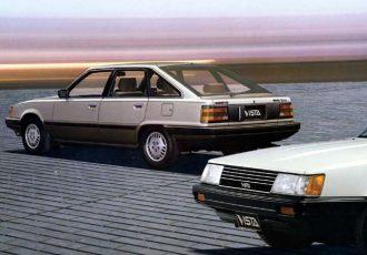 クラウンより小さく安く広いFF車、トヨタ初代ビスタを知ってますか?