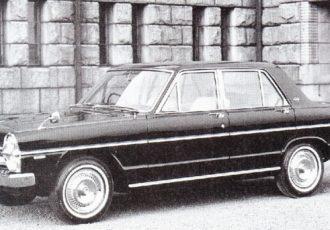 プリンス自動車最後の高級車!!タテ目デザインが特徴的な3代目日産・グロリア