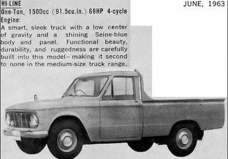 性能ならダットラにも負けない!60年代のクラス最強小型トラック、ダイハツ・ハイラインとは?