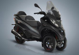 ハイパワーと低燃費化を実現!前2輪スクーターの新型ピアッジオMP3とは