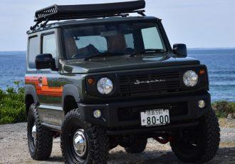 四国のジムニーマスター アウトクラスカーズが展開するコンプリートカスタム