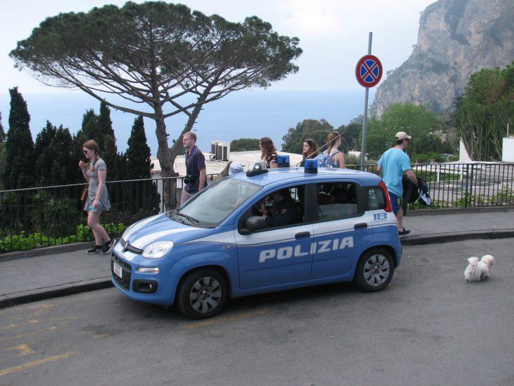 イタリア パトカー フィアット パンダ