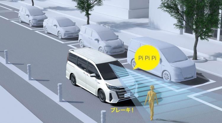 Toyota Safety Sense作動イメージ