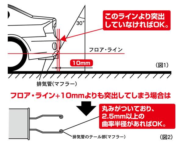 交換マフラー 長尺基準 JASMA