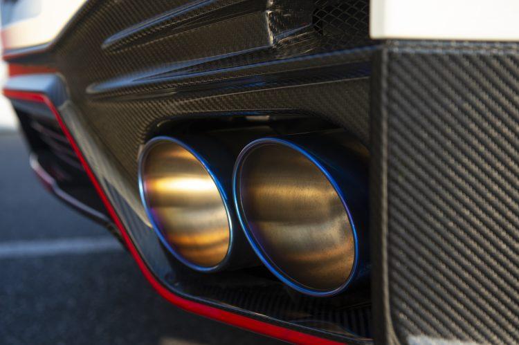 2020年型日産 GT-R NISMO マフラー
