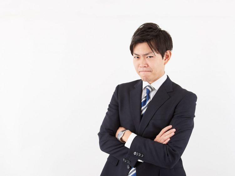 男性 サラリーマン ビジネスマン 怒り イライラ