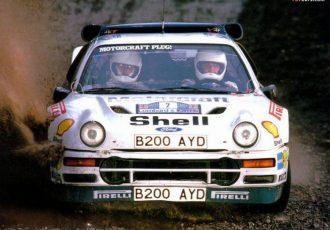 わずか2戦で撤退。WRC最後のグループBマシン『フォード・RS200』とは