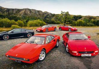 ディーノの系譜!!V8ミッドシップフェラーリ全9モデルを振り返る