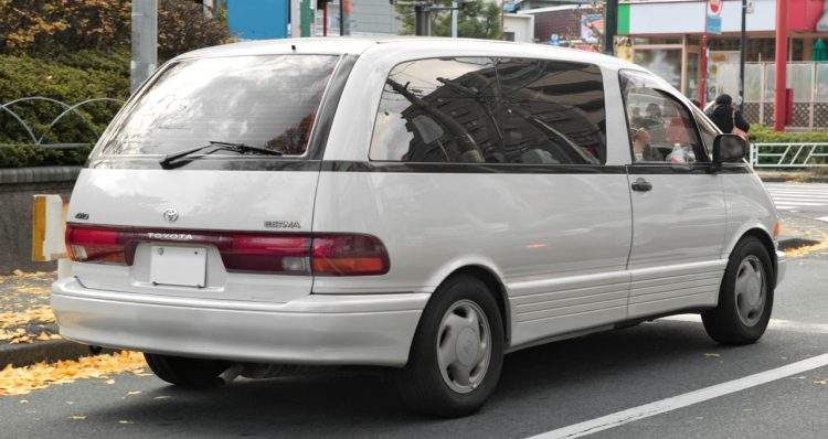 トヨタ エスティマ 初代 リア