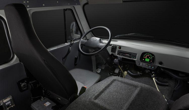 UAZ 2206 インテリア