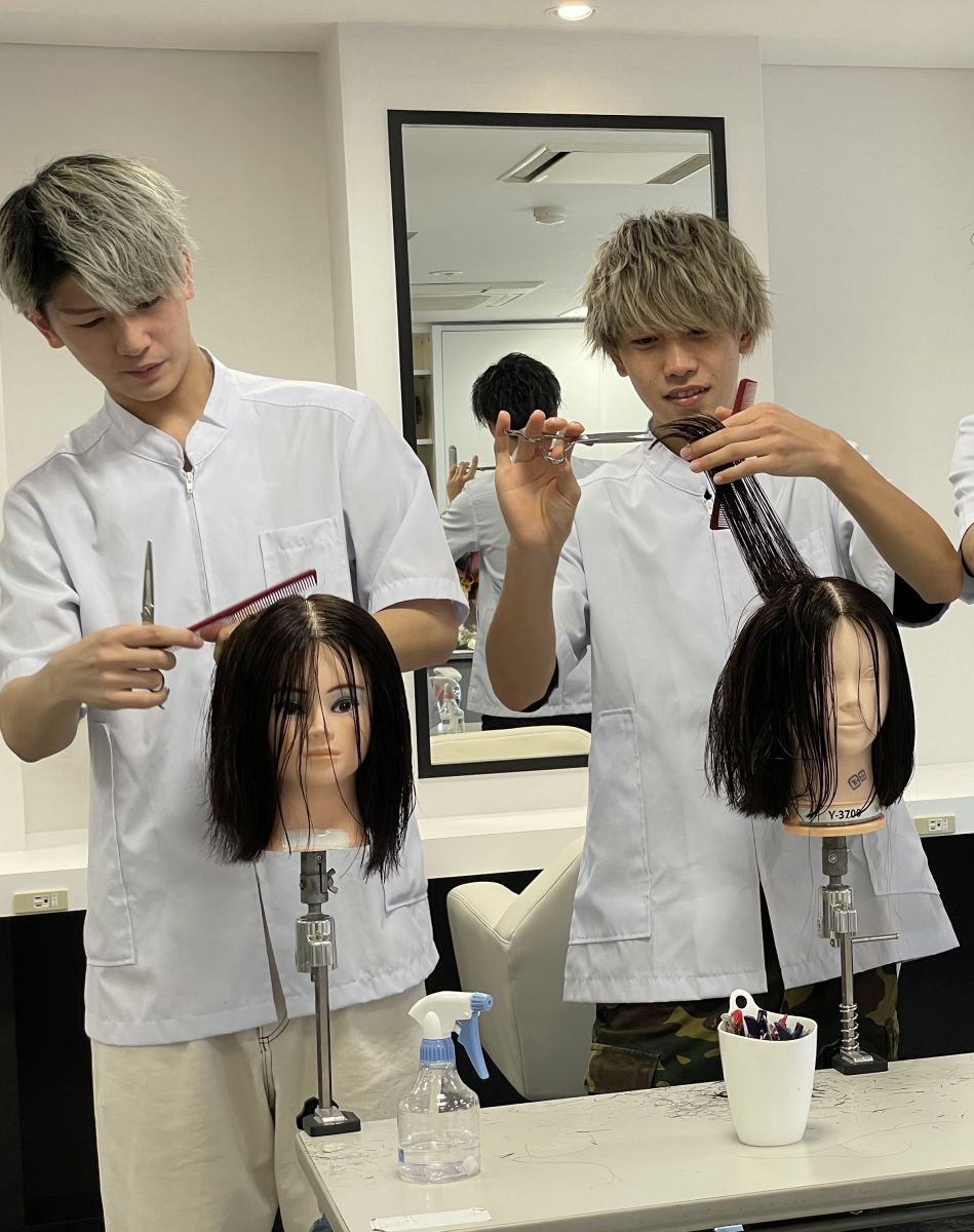 ②ヘア授業体験※限定6名