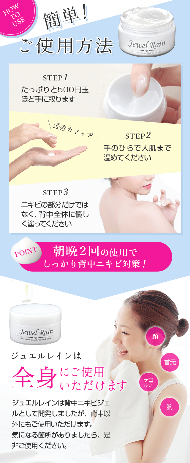How to use 簡単!簡単ご利用方法