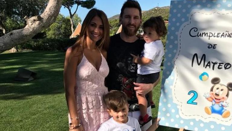メッシの新しい子供は、家族のルーツであるイタリア系の名前に