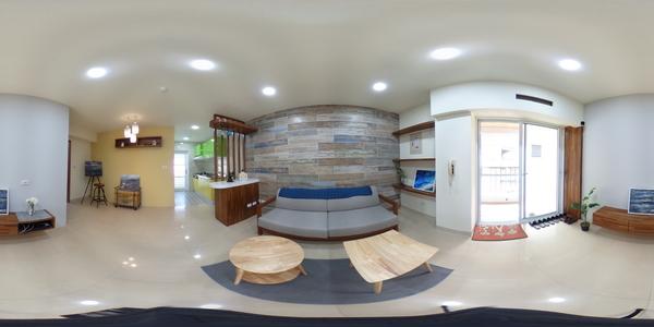 捷運站全新裝潢二房