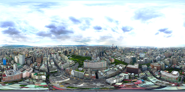 Zhongshan North Road, 2 sec. aerial photography