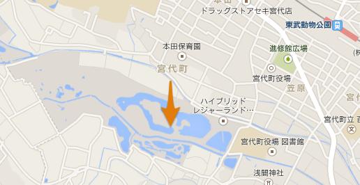 東武動物公園 マップ
