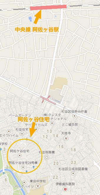 阿佐ヶ谷住宅地図