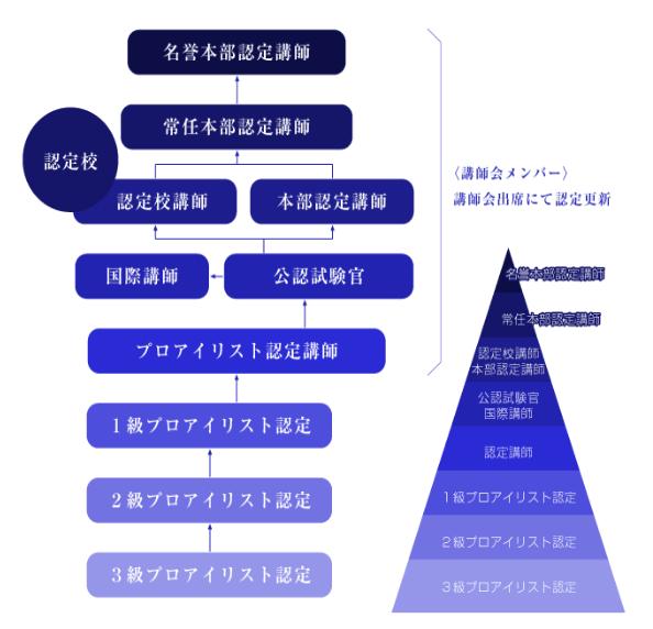 NEA美睫協會-教師組織圖