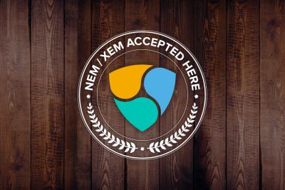 NEM(XEM)決済対応を知らせるロゴを作ったので無料配布するの巻