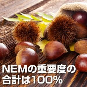 NEMの重要度の合計は100%