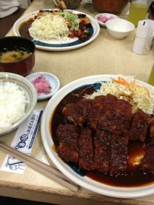 名古屋といえば味噌で味噌カツ!