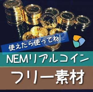 NEMコイン フリー素材 【撮影者も募集】